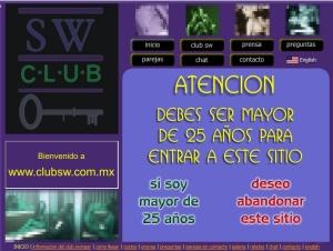 Club SW o el Club de Pedro en Mexico DF